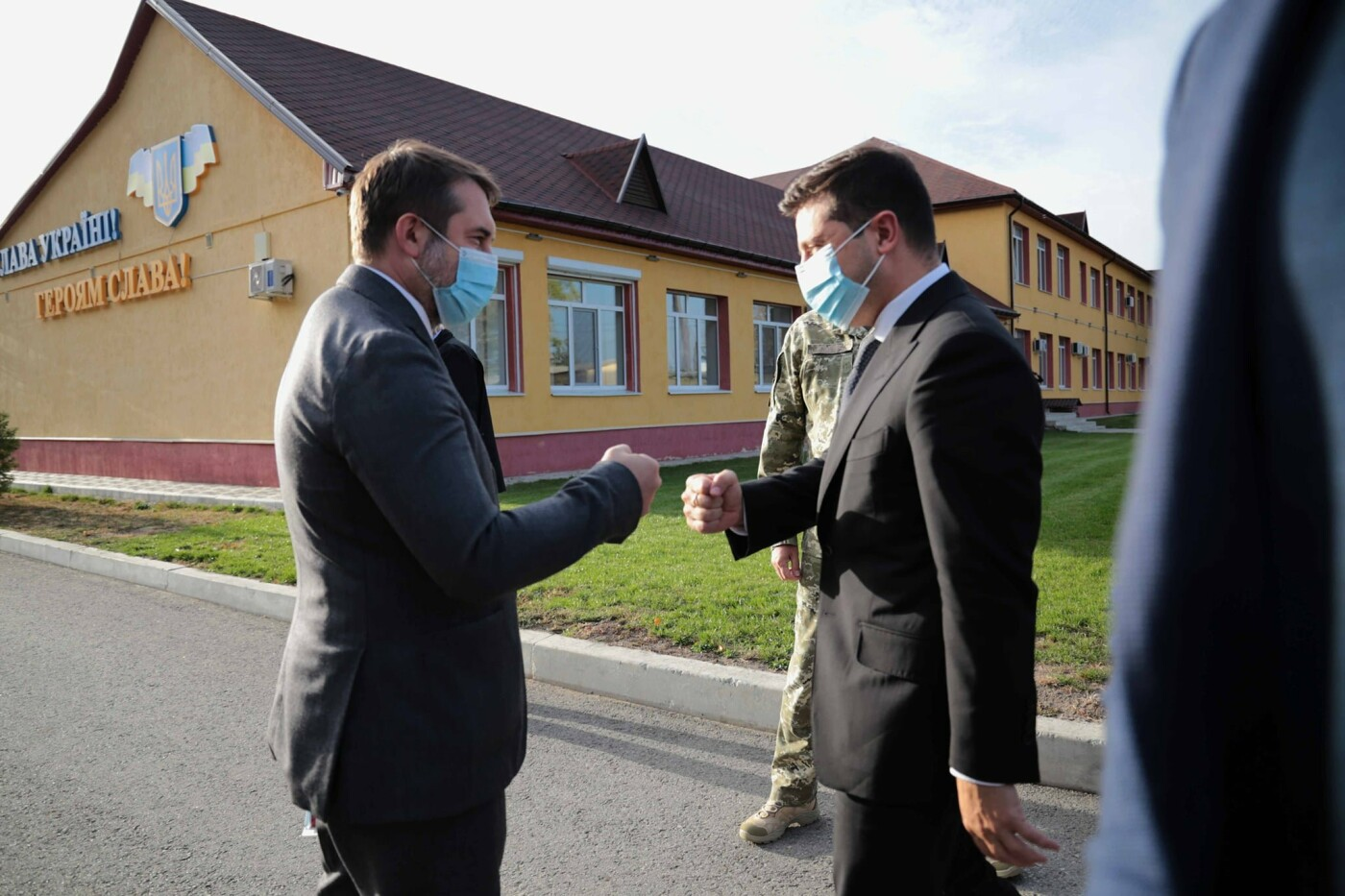 Луганскую область посетил Президент Украины, фото-1