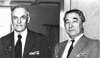 Илья Барский (справа) и Геннадий Вилесов