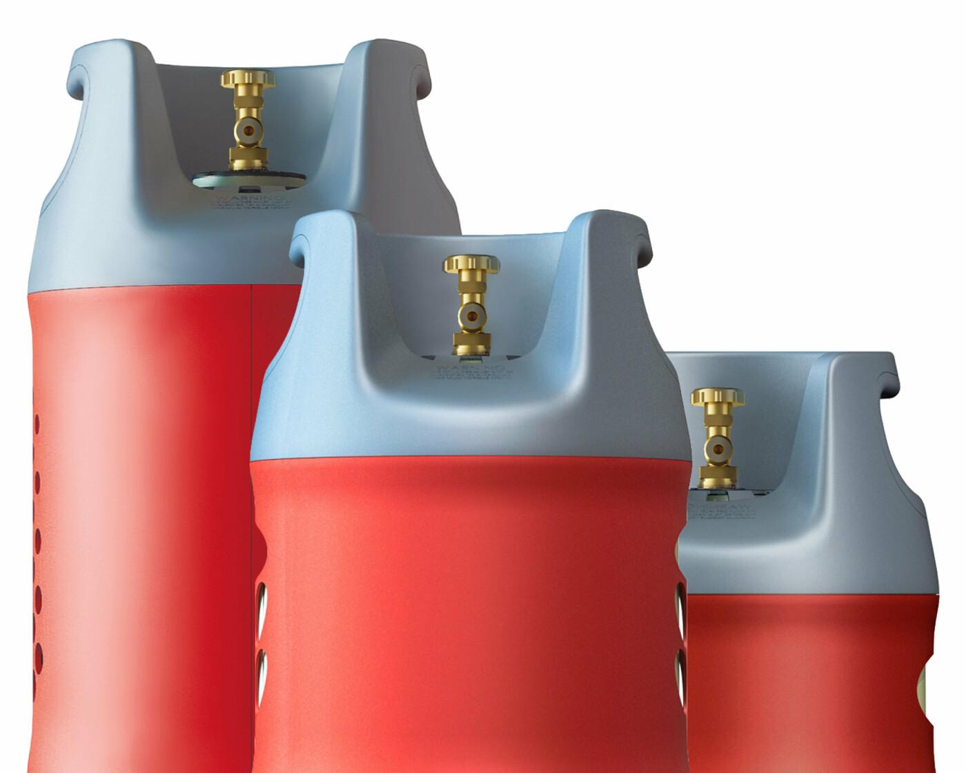 Уникальные газовые баллоны для гриля, фото-1