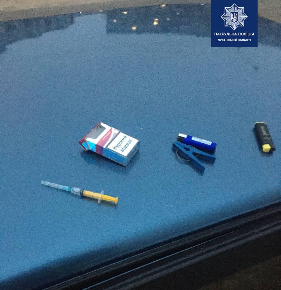 На Луганщине полицейские повторно поймали водителя-наркомана , фото-1