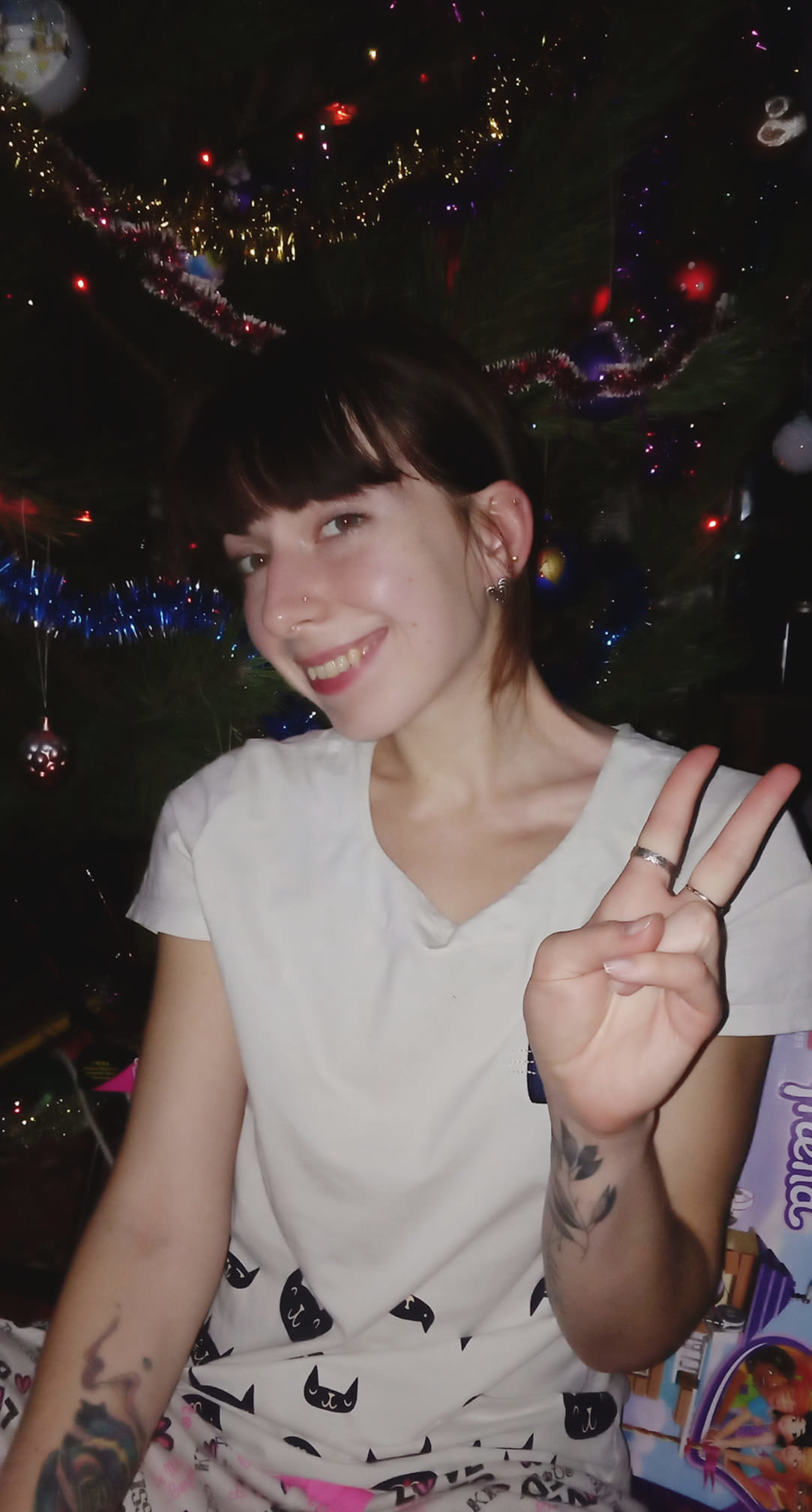 Как жители Луганщины отметили Новый год: ТОП фото из соцсетей, фото-5