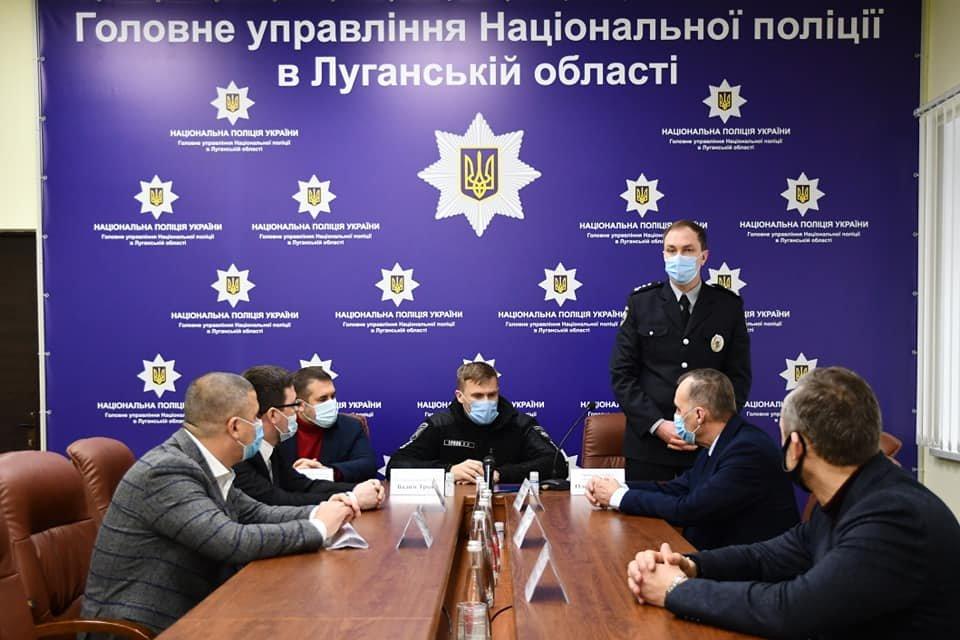 На Луганщине представили нового руководителя областной полиции, фото-1