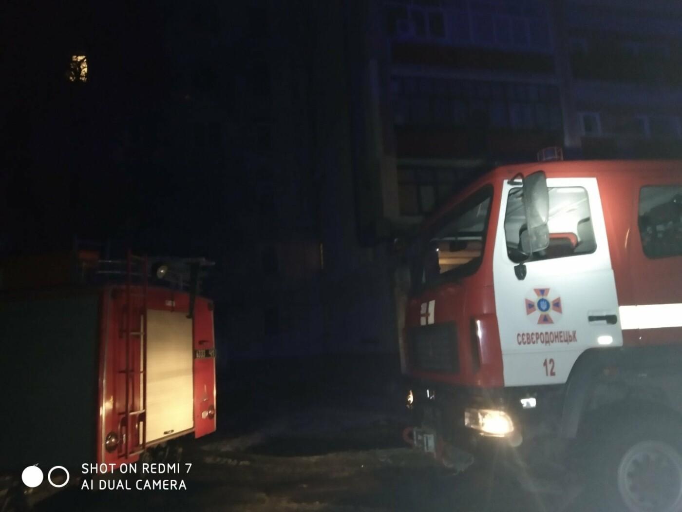 В Северодонецке произошел пожар в жилом доме , фото-1