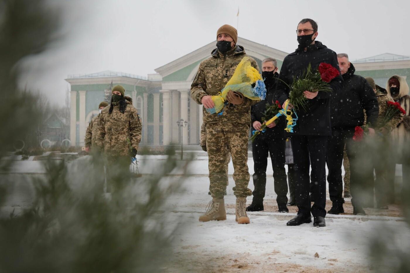 Северодончане почтили память защитников Донецкого аэропорта , фото-1