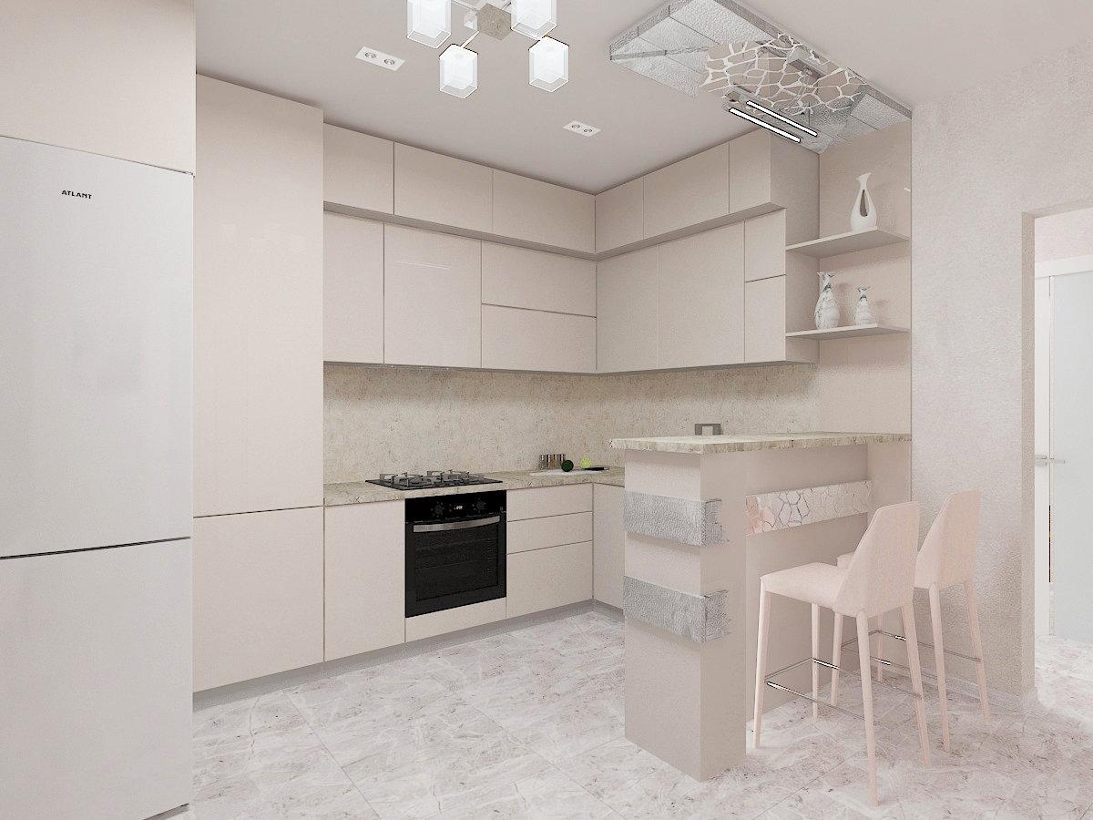 Современный дизайн квартиры, Дизайн-студия Романа Москаленко