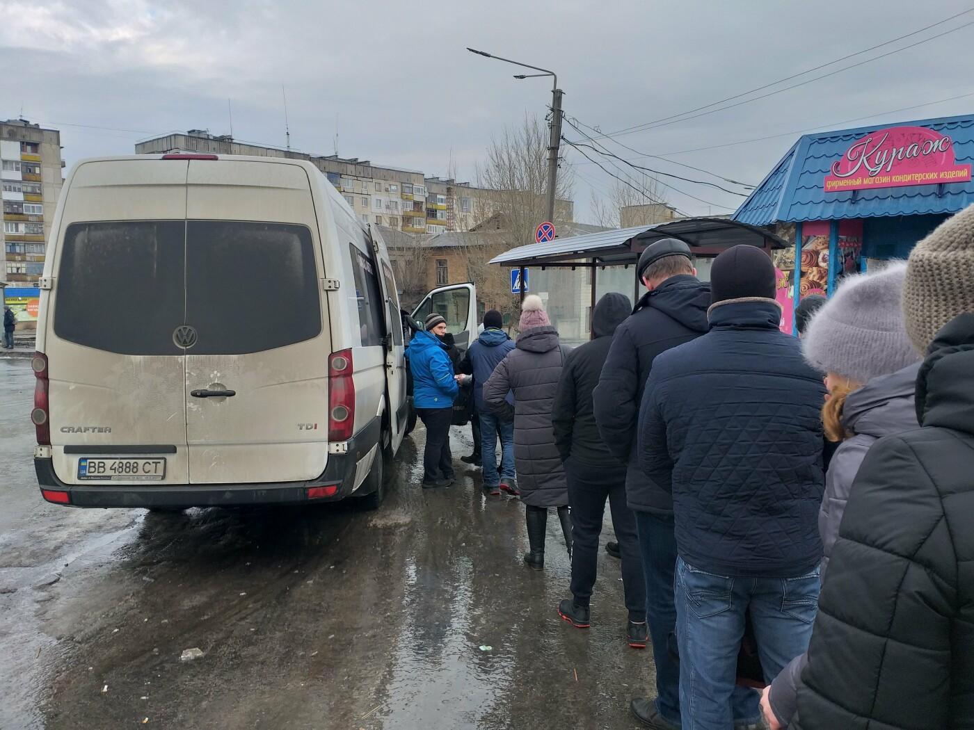 На Луганщине гололед усложнил работу общественного транспорта (фото), фото-7