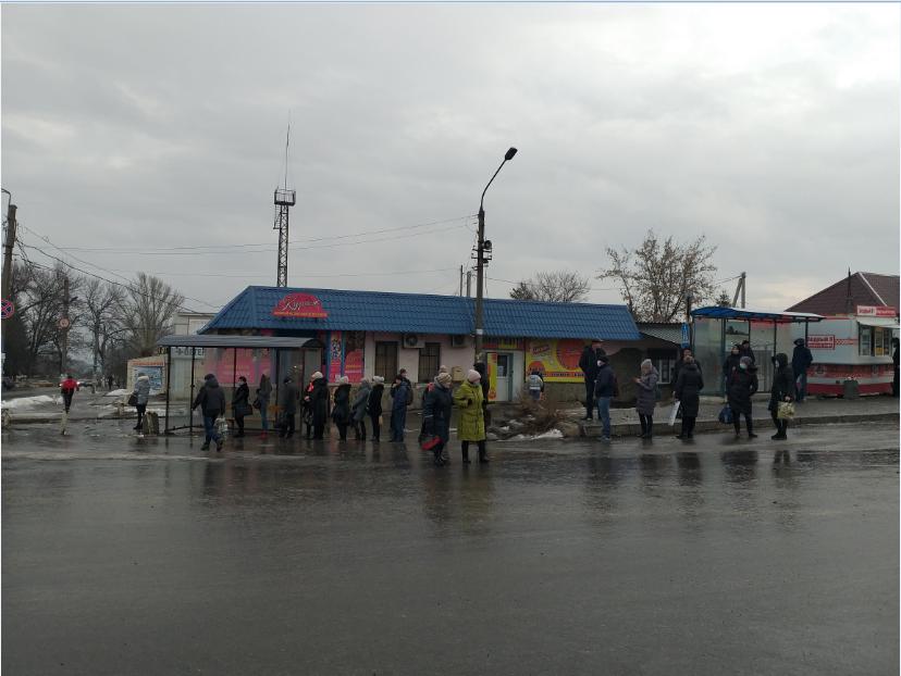 На Луганщине гололед усложнил работу общественного транспорта (фото), фото-3
