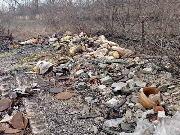 На Луганщине обнаружили свалку опасных химических отходов , фото-1