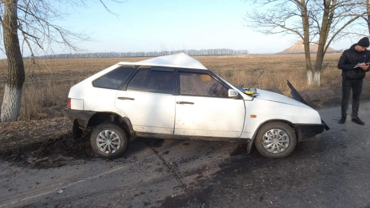 На Луганщине в результате ДТП погиб водитель автомобиля, фото-2