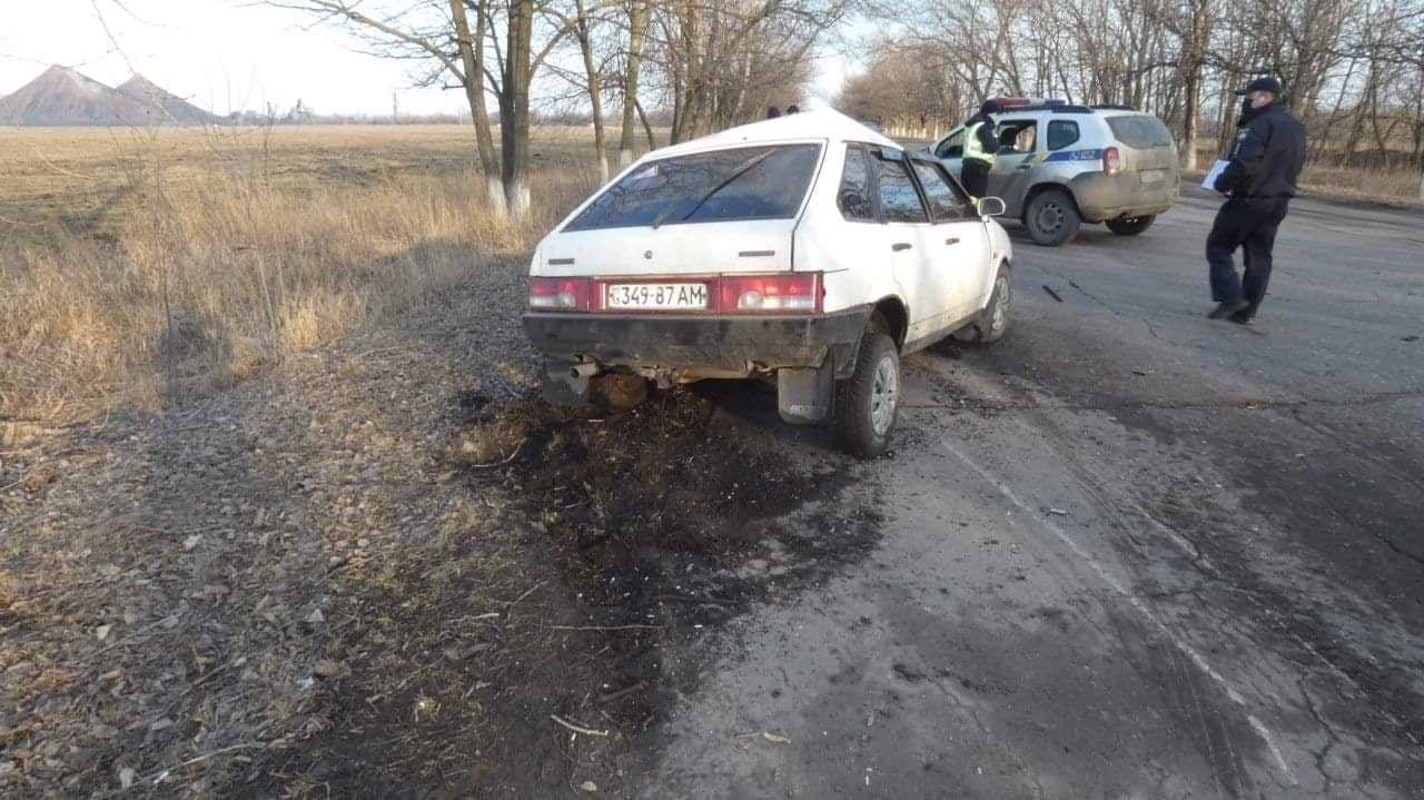 На Луганщине в результате ДТП погиб водитель автомобиля, фото-1