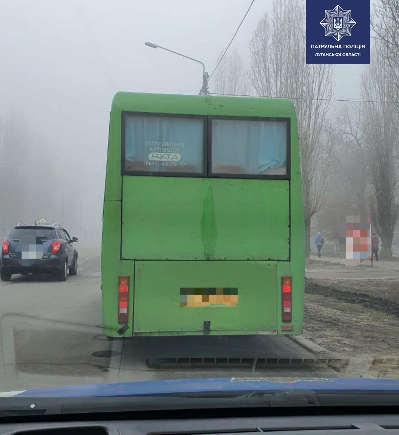 "На Луганщине водитель маршрутки ""спалился"" на нарушении правил карантина , фото-1"