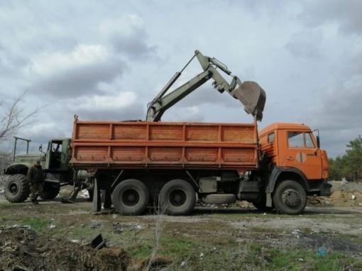 В Боровском ликвидируют несанкционированные свалки (фото) , фото-1