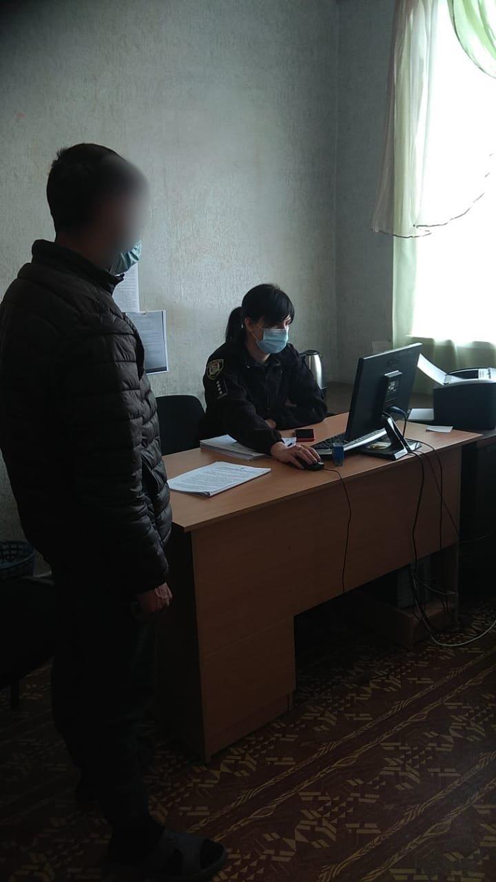 На Луганщине парень убил отца и скрывался в лесу , фото-1