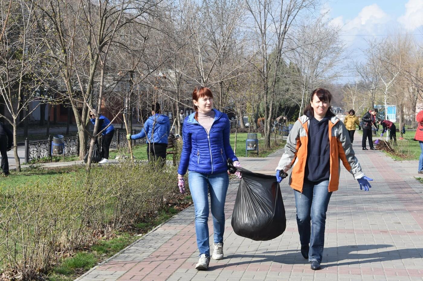 Северодончане приняли участие во всеукраинской акции «За чистую окружающую среду» (фото) , фото-26