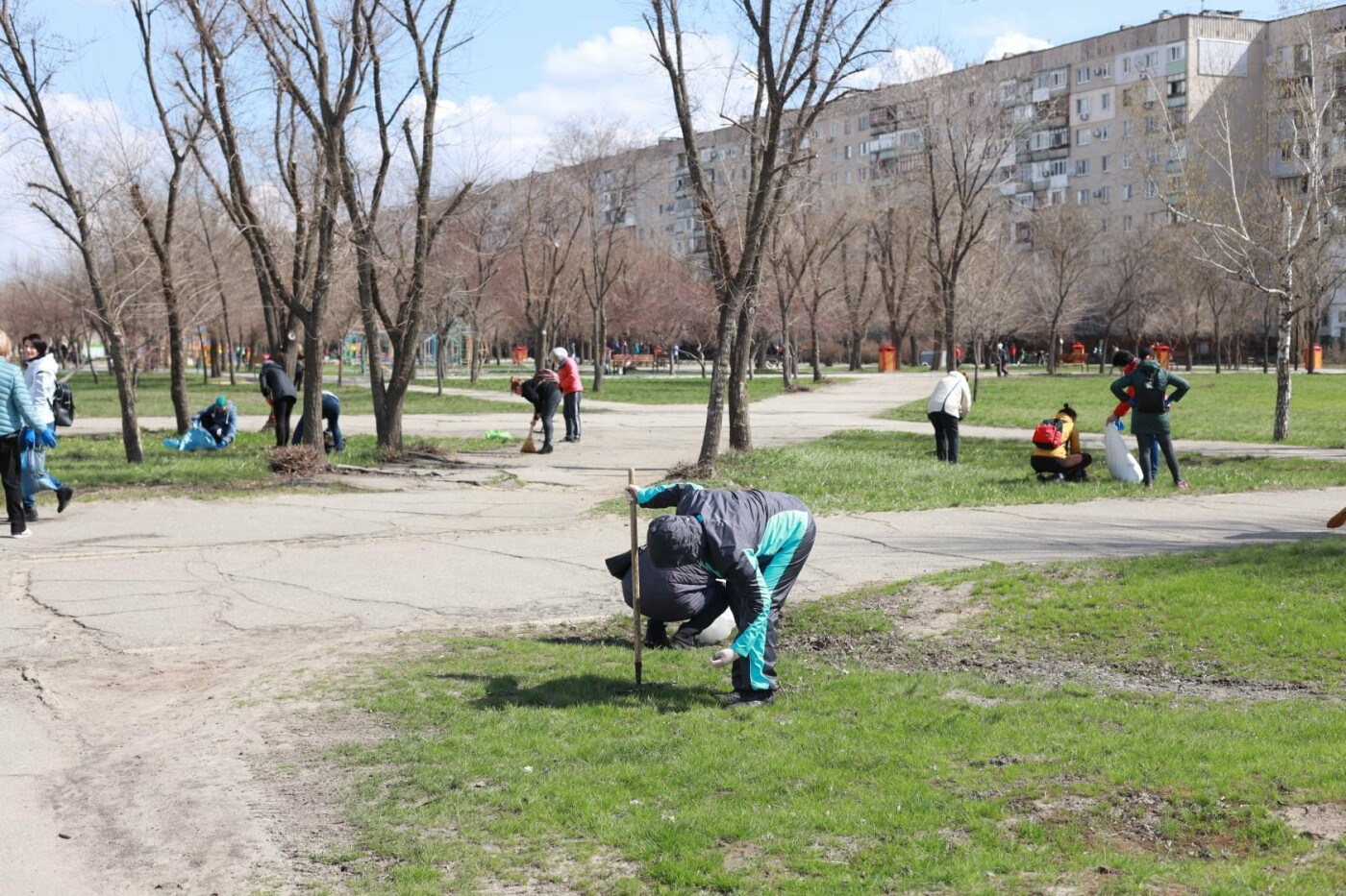 Северодончане приняли участие во всеукраинской акции «За чистую окружающую среду» (фото) , фото-7