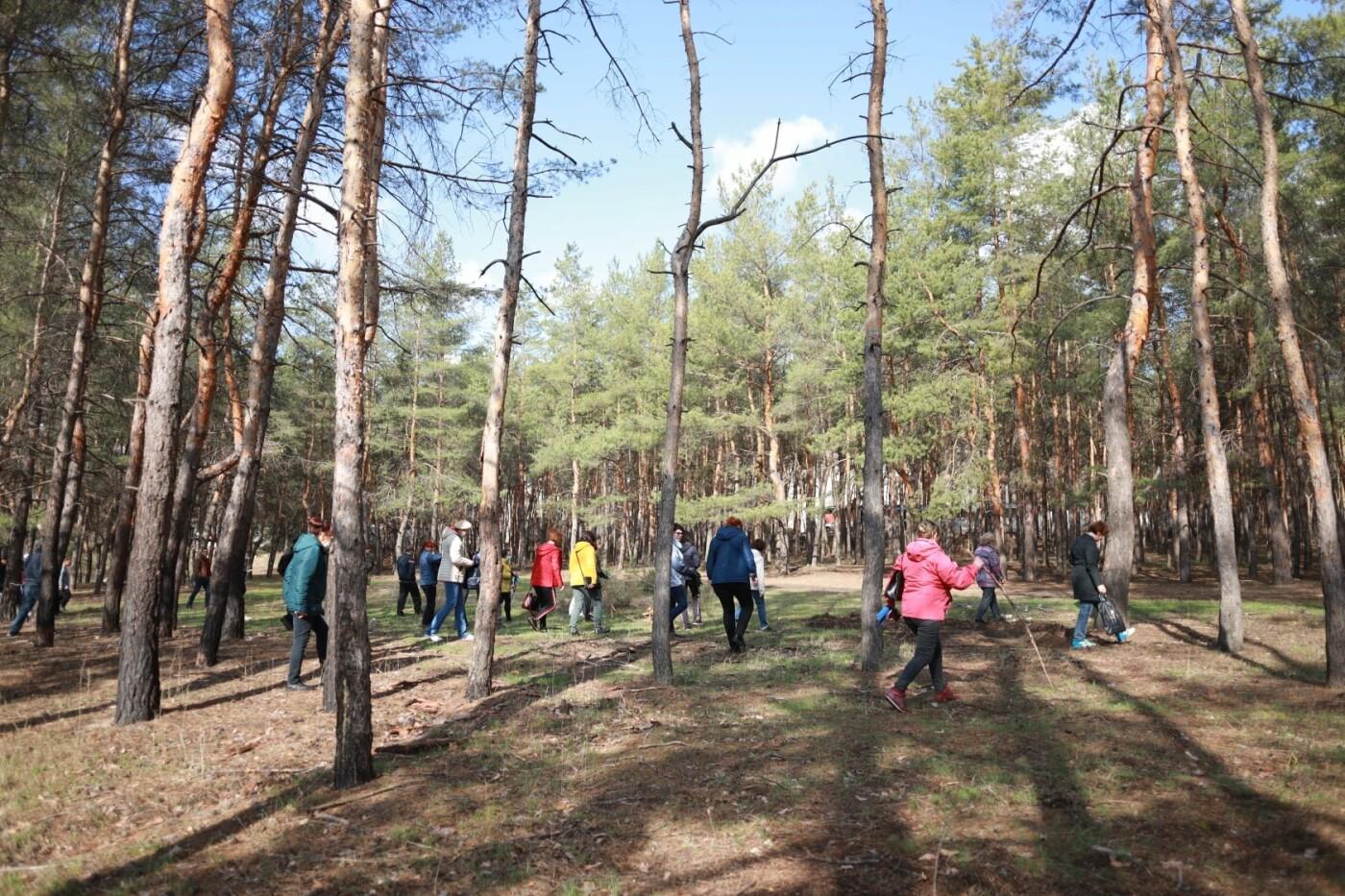 Северодончане приняли участие во всеукраинской акции «За чистую окружающую среду» (фото) , фото-21