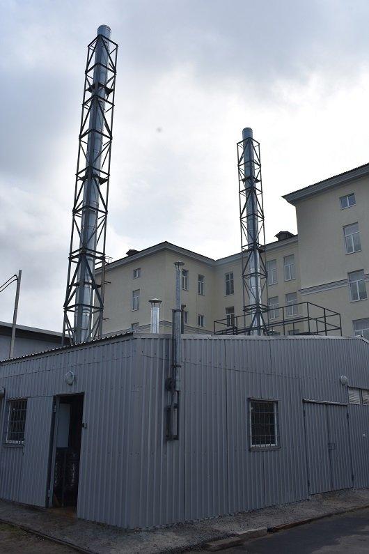 В Северодонецке в бассейне КДЮСШ-4 появилось собственное отопление (фото), фото-1