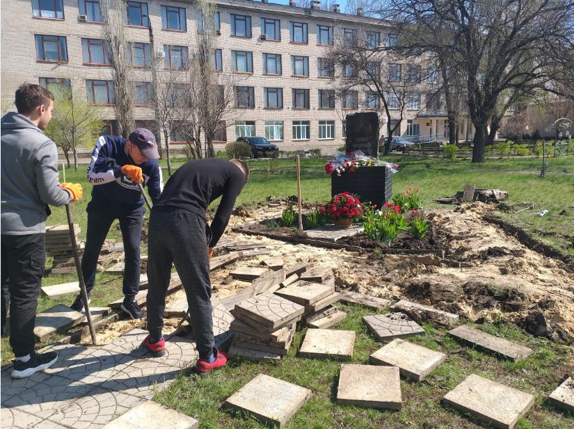 В Северодонецке начались работы по установке нового памятника ( фото) , фото-1