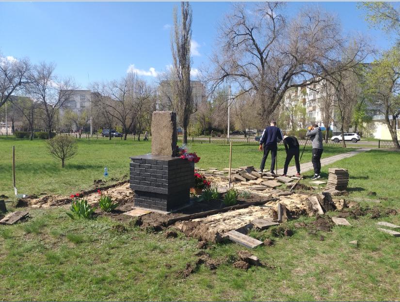 В Северодонецке начались работы по установке нового памятника ( фото) , фото-5