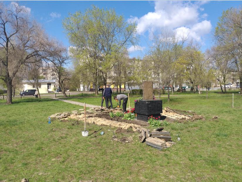 В Северодонецке начались работы по установке нового памятника ( фото) , фото-6
