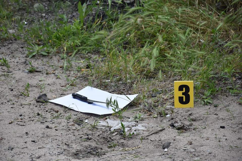 В Северодонецке женщина напала на полицейского с ножом , фото-2