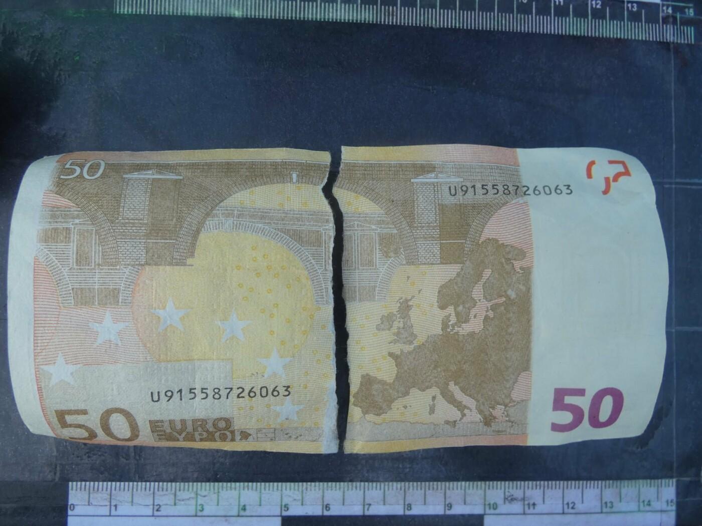 Северодонецкая пенсионерка пыталась обменять поддельные 50 евро, работник обменника не растерялся, фото-2