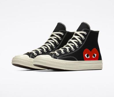 Кеды Converse х Comme Des Garcons – обувь для смелых и оригинальных